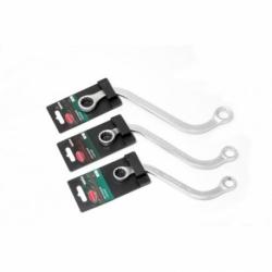 Отвертка шлицевая 6.5*125мм магнитная L230мм на пластиковом держателе RockForce 70165125-RF