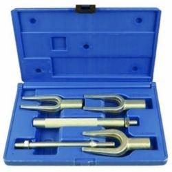 Домкрат подкатной гидравлический 2.5т с фиксацией (h min 140мм, h max 387мм) Rock Force TH22501CB-RF
